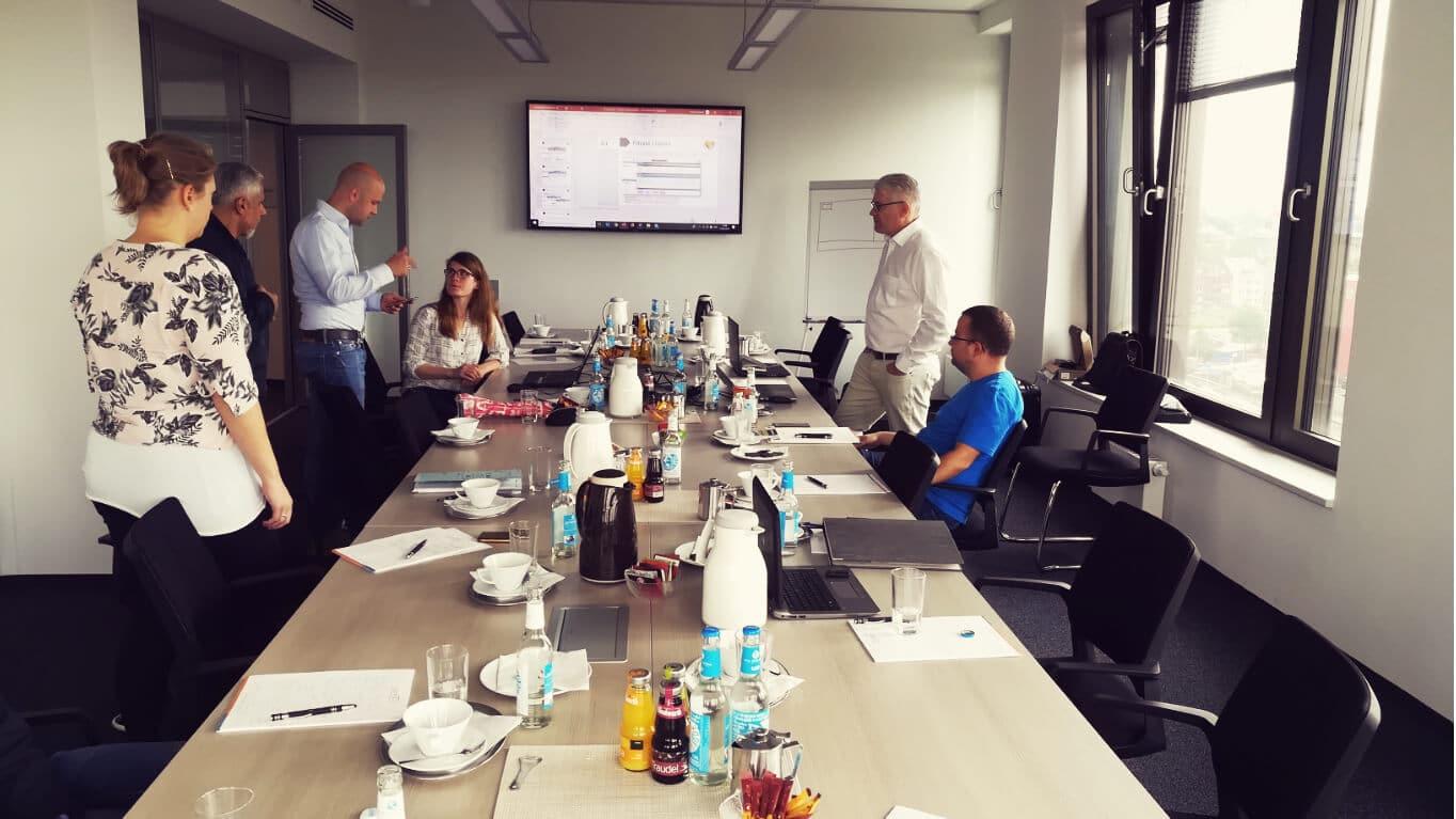 Digital Signage Workshop. Die Anforderungen aller Fachabteilungen vereint in einem Konzept