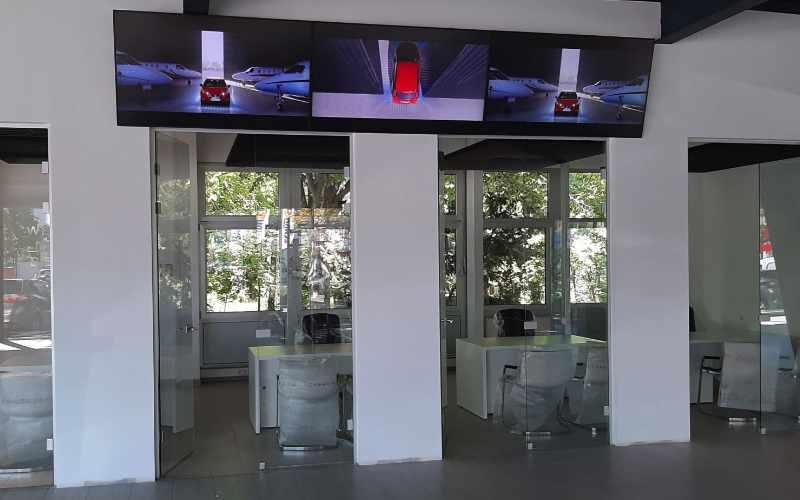 Videowalls sind die Königsdisziplin von Digital Signage. LCD oder LED, das Ergebnis ist Perfektion.